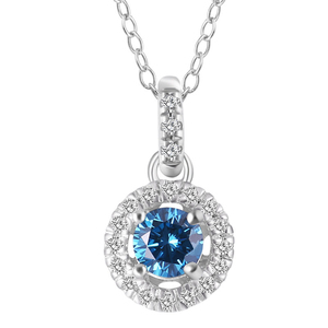 n3001 silver925 sterling silver cubic zircon pendant necklace silver necklace  jewelry birthday gift