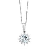n3015 necklace silver cubic zircon pendant silver jewelry birthday gift sun star style