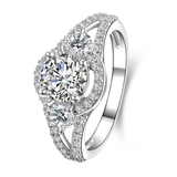 r1009 Fashion Wedding Ring Newest With CZ Sterling 925 Silver Rings Engagement Jewelry